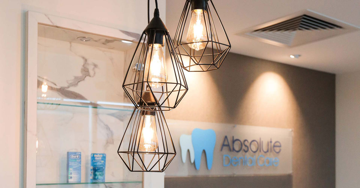 Absolute Dental Care Taringa Case Study Pendant Lights