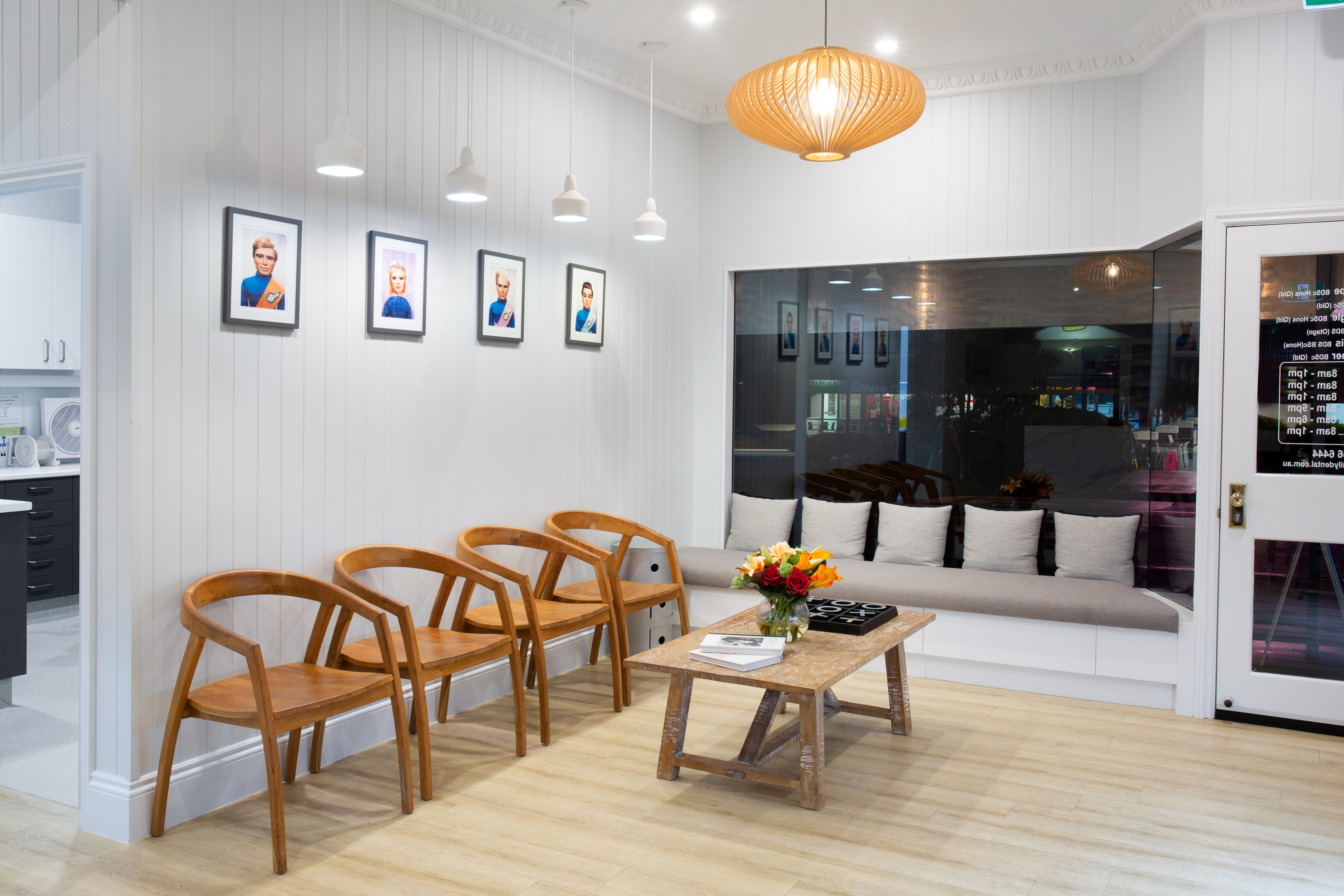 before and after, waiting room, dentifit, dental fitout