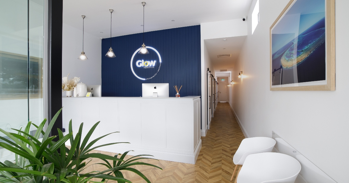 glow health fit out
